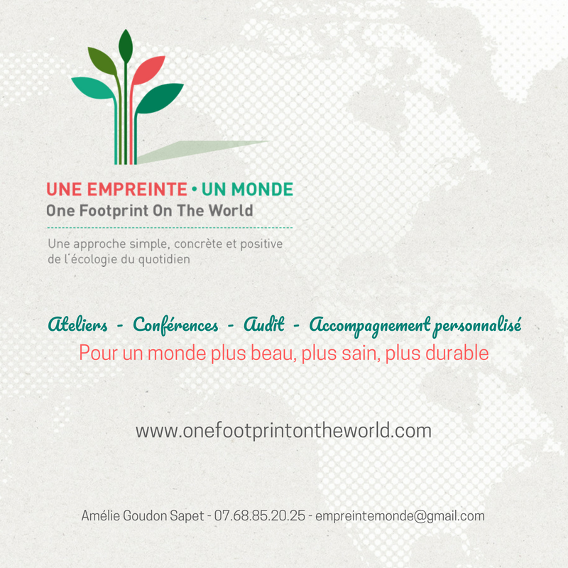 Une empreinte - Un monde (One Footprint On The World)