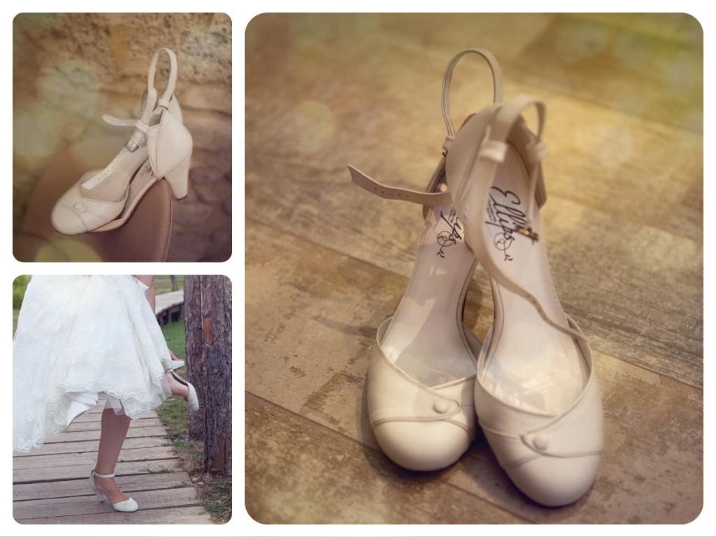 chaussures de mariée Ellips - Anie