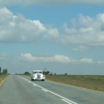 On the road to Vaal Dam