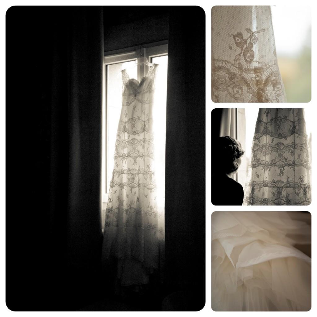 robe de mariée vintage en dentelle (cymbeline)