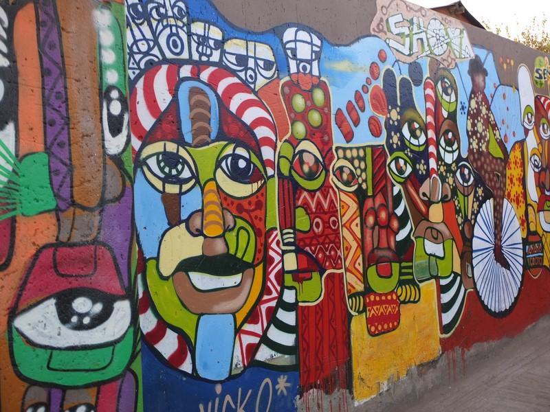 Street Art à Vilakazi Street
