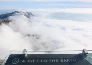 Dans les nuages (à Table Mountain)