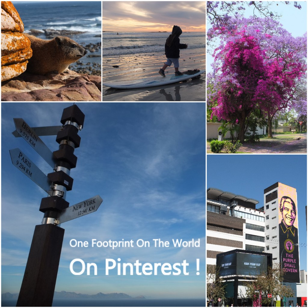 One Fooprint On The World On Pinterest
