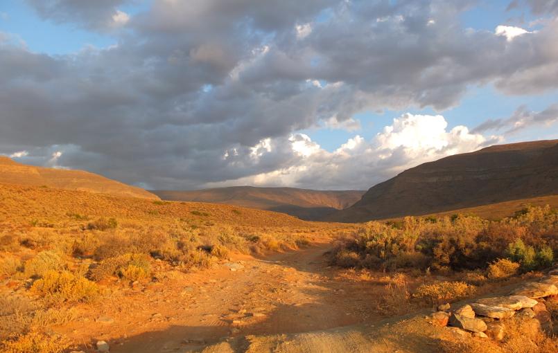 Road trip in Tankwa Karoo