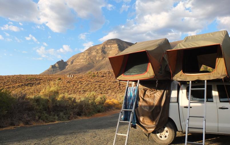 Camping in Tankwa Karoo