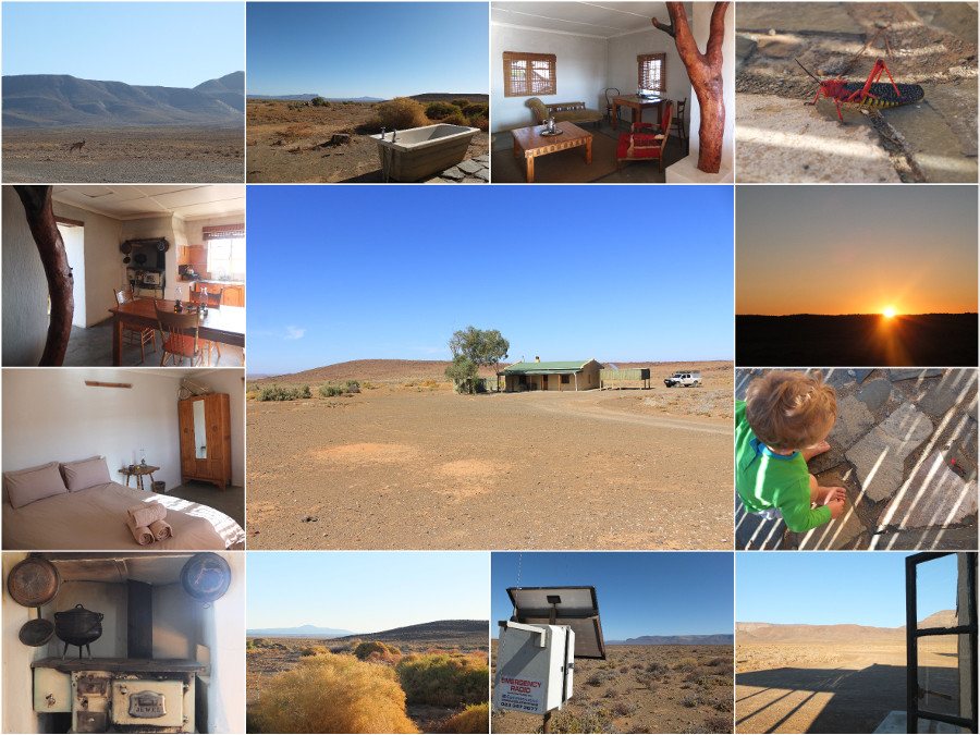 Paulshoek Cottage in Tankwa Karoo National Park