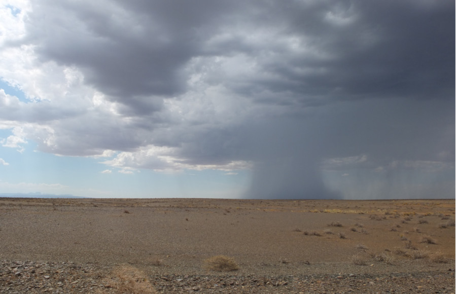 Storm is coming in Tankwa Karoo NP