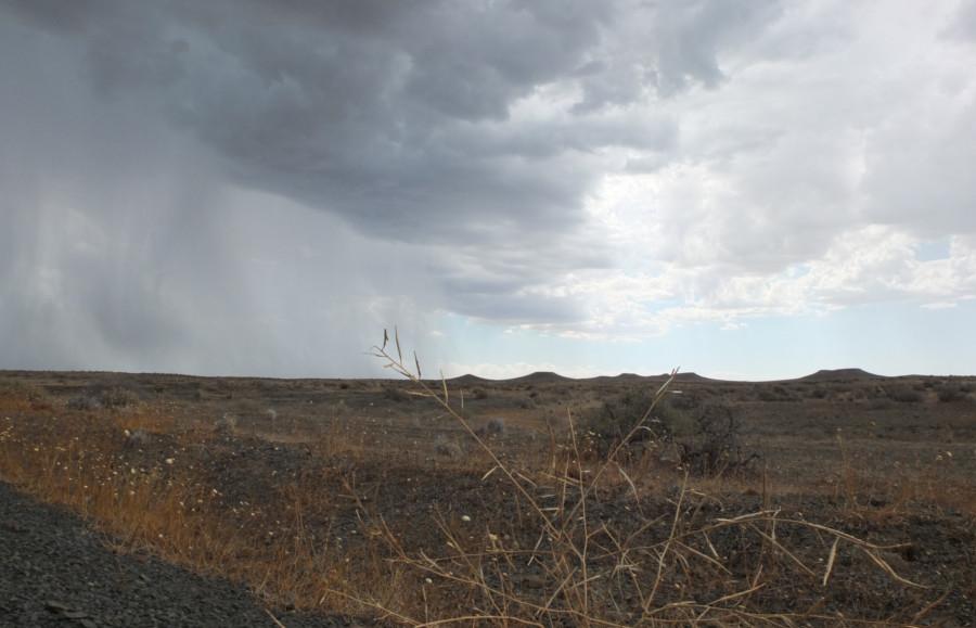 Stormy Tankwa karoo National Park