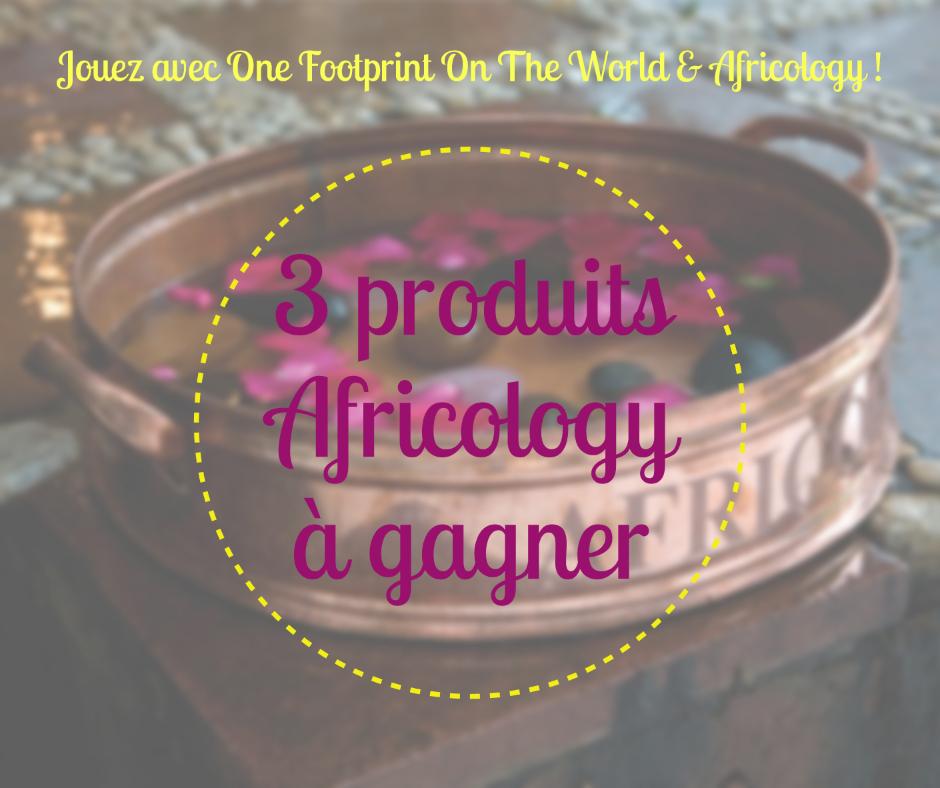 3 produits Africology à gagner