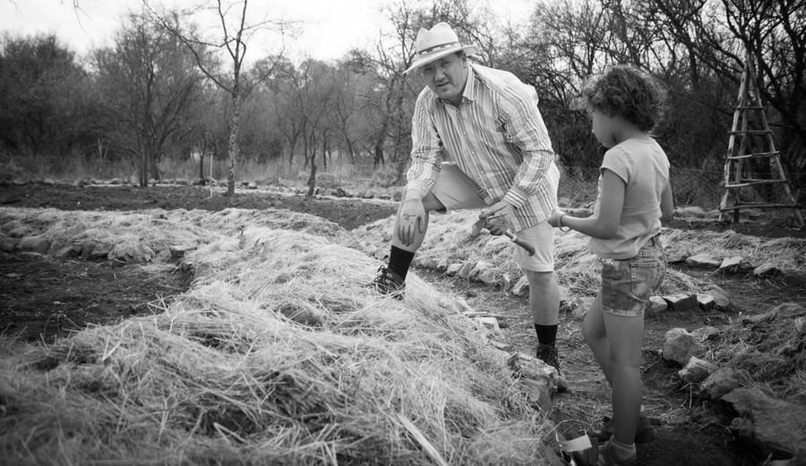 Potager en permaculture en Afrique du Sud