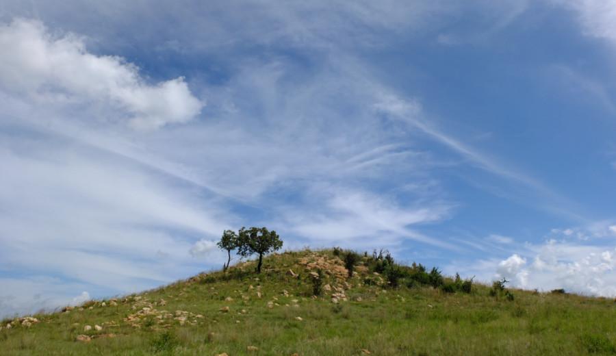 Natural landscape in Somabula