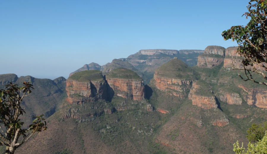 Three Rondavels, South Africa