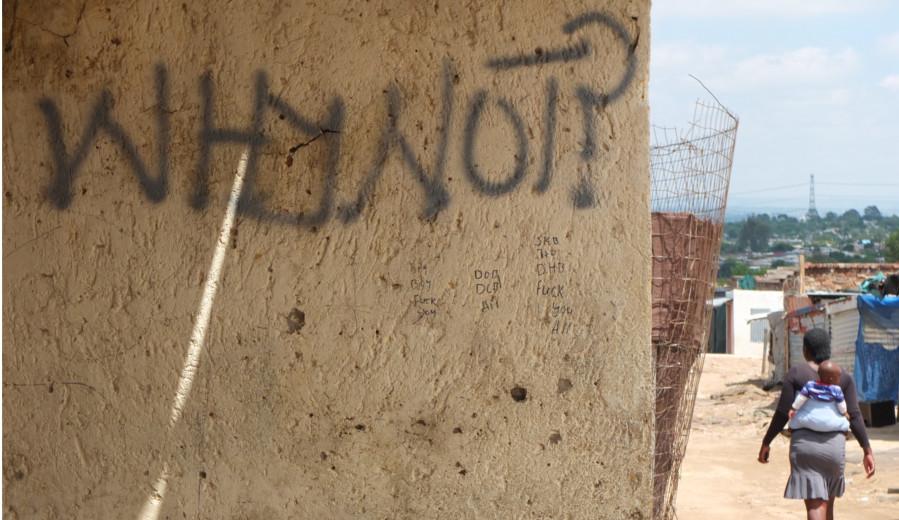 Street Art in Diepsloot, South Africa