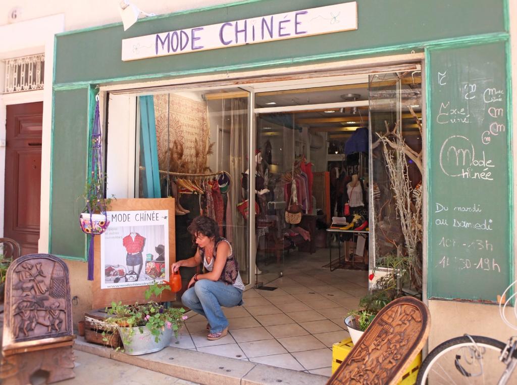 Mode Chinée
