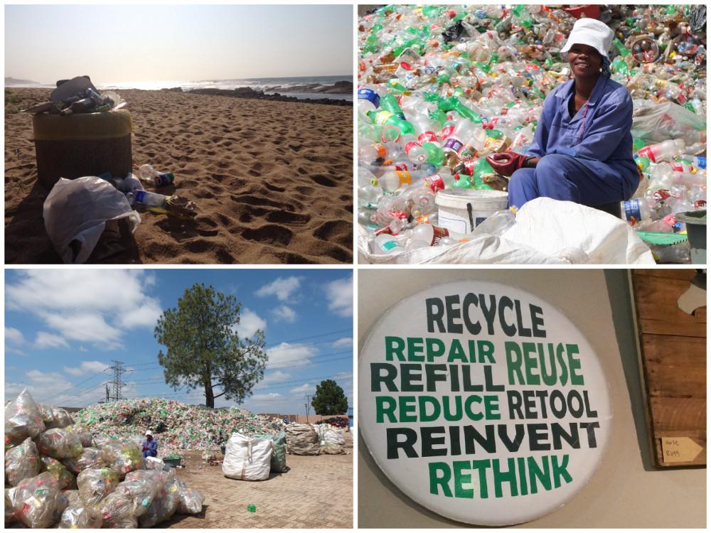 recyclage en Afrique du Sud