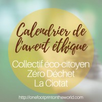 Calendrier de l'avent éthique - One Footprint On The World