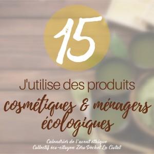cosmétiques écologiques