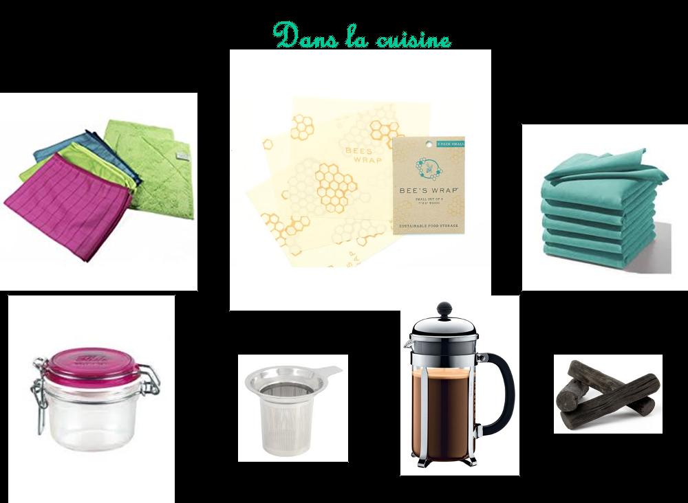 Eco geste 8 j 39 opte pour des produits r utilisables for Cuisine zero dechet