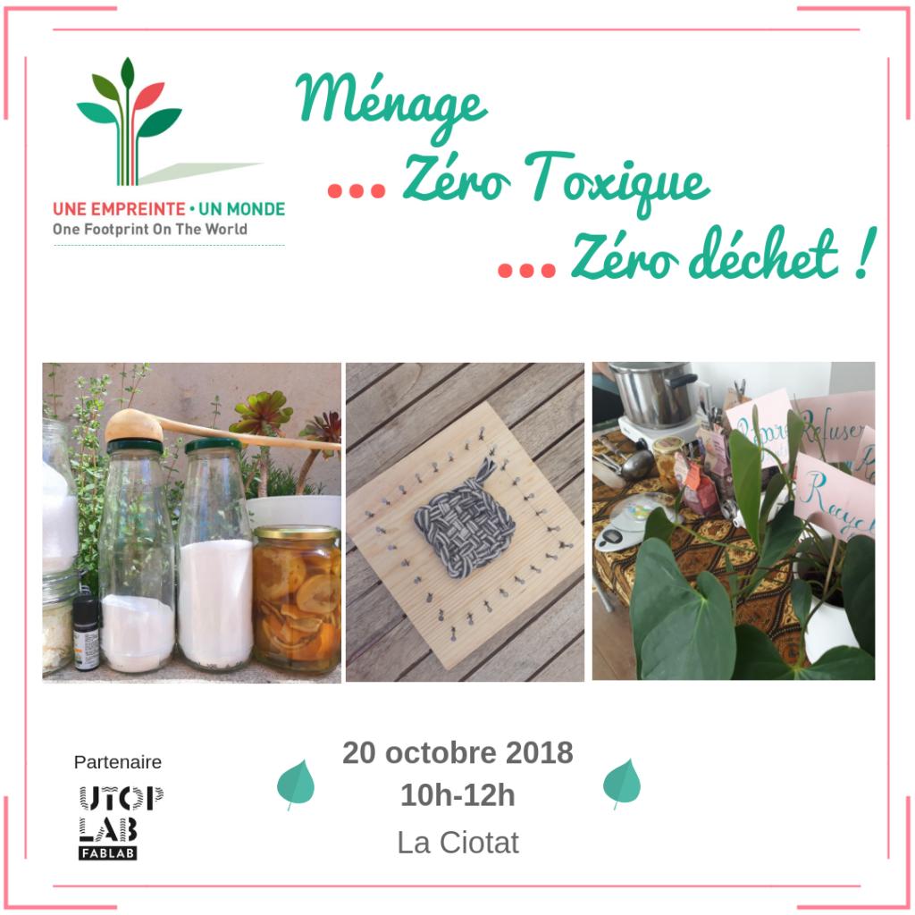 Ménage Zéro Toxique Zéro déchet !