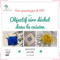 Eco-atelier zéro déchet dans la cuisine